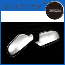 High Quality Auto Parts S line style silver matt chrome side mirror cap replacement facelift version For Audi a5