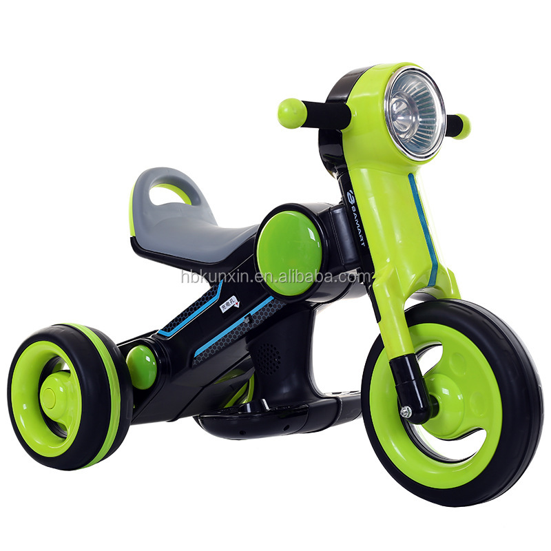 Kids 3 Wheel Electric Motorcycle Baby Ride On Toy Motorbike with Cheap Price