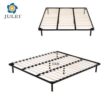 Knock Down Furniture Queen Steel Bed Frame
