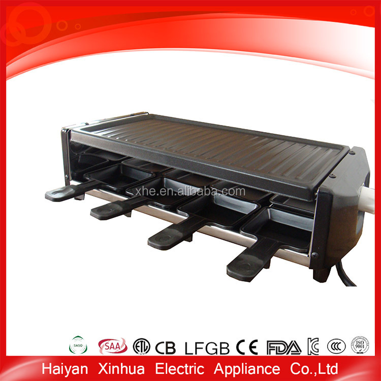 Professional manufacture aluminum electric indoor useful bbq grill maker