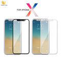 wholesale alibaba 5D clear tempered glass for iphone X