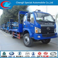 Hot sale factory direct flatbed tow truck FOTON 6x4 10T mini flat bed truck