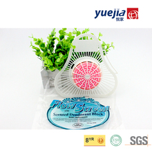 Hot Sale Factory biological Toilet deodorant urinal Cleaner block with plastic screen