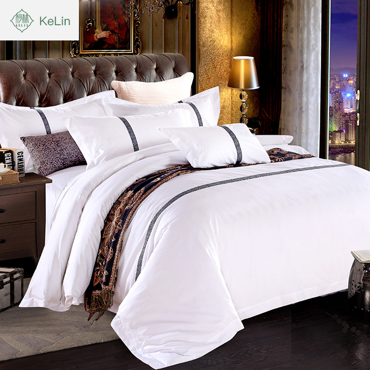 100% Organic Cotton Material flat sheet for hotel
