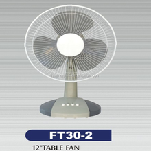 3 speed control high quality 12 inch table fan motor rpm
