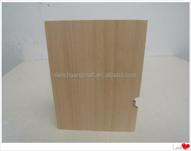 Desktop furnishing articles student supplies wooden boxes, wooden book simple desktop receive office CangShuHe customization
