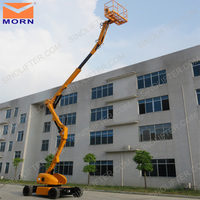 Self-propelled electric powered articulating boom lifts