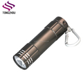 LED Heavy Duty Compact Aluminum Flashlight with Carabiner