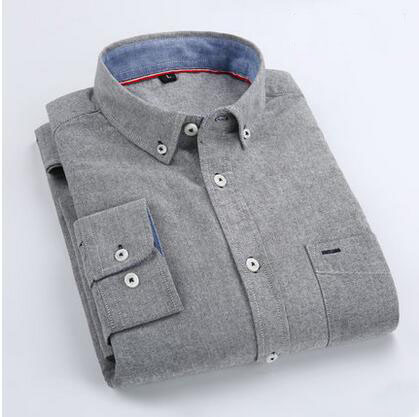 High quality mens clothes latest designs cotton button down oxford mens shirts casual
