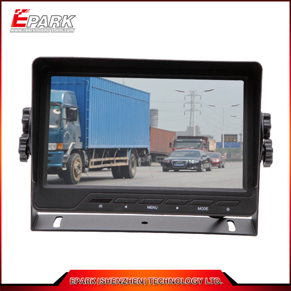 CE 7 inch tft lcd monitor with LED camera