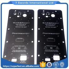 UHMWPE plastic marine fender bumper face pad panel, engineering plastic sheet