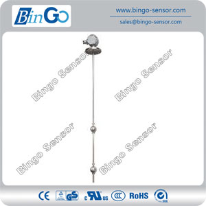 Customizable wire length stainless steel oil level float switch controller
