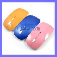 Flat 2.4ghz USB Wireless Optical Mouse Driver Bluetooth Computer Mouse