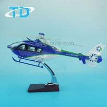 Scale 1/24 42cm ec-135 airclaims scale desktop helicopter model