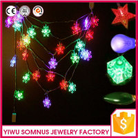 corlorful crystal clear led light Rope Light mini led lights for crafts Outdoor Christmas Tree Decoration A045
