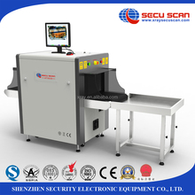 Small size x ray luggage sanner, cargo scanner, conveyor belt metal detector