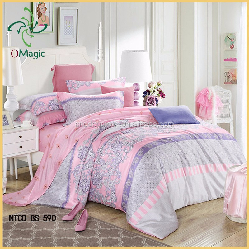 2016 Customized Home Clean Close Colorful Bed Sheet Bedding Set