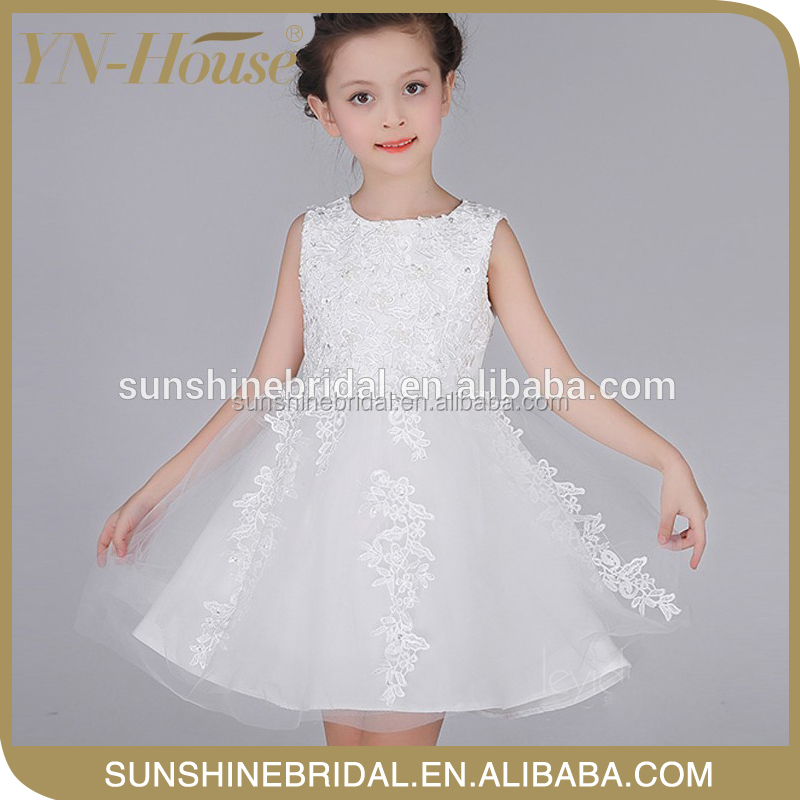 unique design elegant birthday gown dresses for girls of 10 years old with elegant design