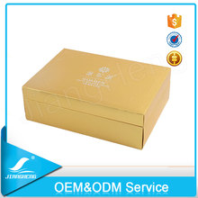 High Quality Cosmetic Gift Packaging Rigid Hinged Lid Tin Box