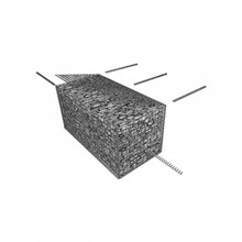 Hot dipped galvanized steel welded gabion basket/gabion boxes