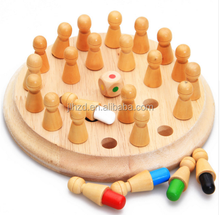 Montessori Kids Toy Baby Wooden Memory Developing Compete Chess