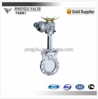 Electric Water Shut Off Knife Gate Valve for russia
