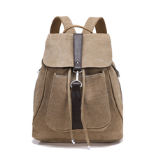 Fashion Outdoor Travel Waterproof Ripstop Girls Leather Camping Strong Laptop School Backpack