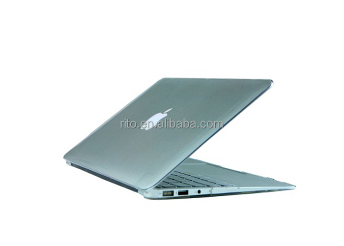 For Clear Crystal Apple Mac Air Case 13 inch, Laptop Hard Case for Mac Book, OEM Welcome