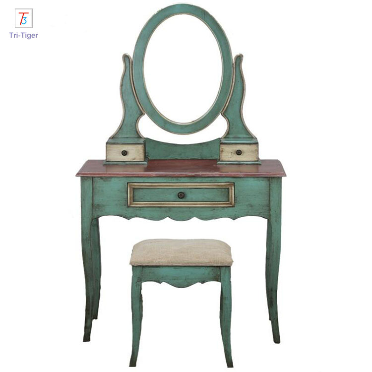 living room Mirrored Furniture Girls <strong>antique</strong> Dressing <strong>Table</strong>