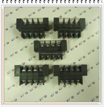 High current connector 0168 Dinkle plastic barrier terminal block