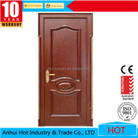 High Quality Exquisite Printing PVC Wooden Door Lock Handle Hot Popular Melamine Door China Top Brand