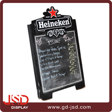 850x550x25mm wooden back frame hanging blackboard, menu blackboard, restaurant blackboard
