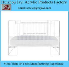 China manufacturer wholesale acrylic baby crib importers,clear plastic baby crib