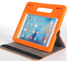 Brandnew handle holder EVA kidsproof universal case for iPad 9.7' bag with foldable leather stand