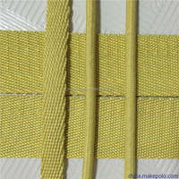 12mm*4mm Fire resistance kevlar aramid braided cord