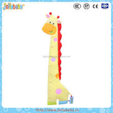 Australian Jollybaby Fashionable Hanging Yellow Giraffe Shaped Kids Height Growth Chart For Baby' Learning