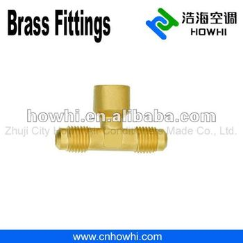 brass pipe fitting, Three - Way Tees, Internal Branch