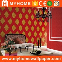 High Quality Korean Design Waterproof Wallpaper For Bathrooms
