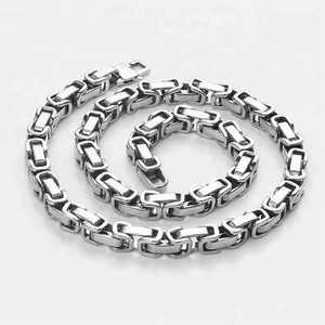 Wholesale Cheap Italian Stainless Steel Jewelry Silver Plated Chain For Women Men