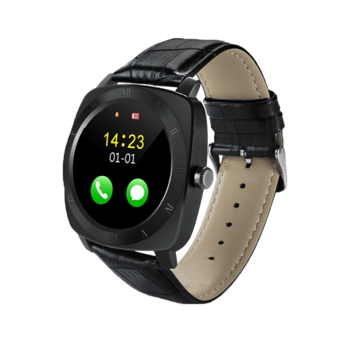 X3 1.33 inch Full IPS Round Touch Screen Bluetooth Smart Watch Phone With SIM Card Slot for Android Smartphones, Support Pedomet