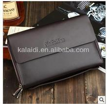 2014 factory cheap leather briefcase