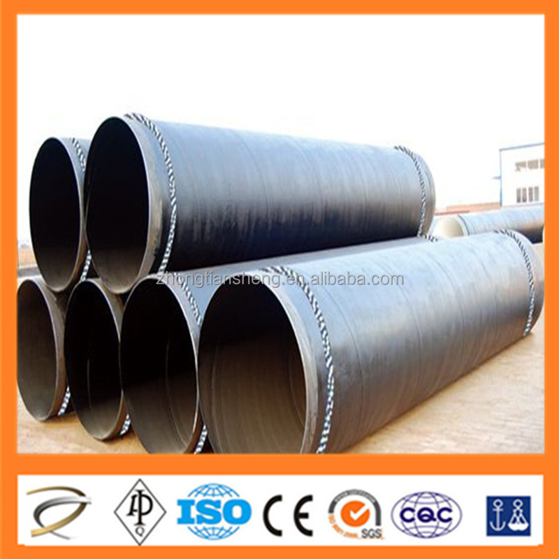 High Pressure Boiler Tube 3 layers polyethylene coated steel pipe China