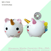 Kids Gift DIY Ceramic Unicorn Money