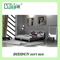 new design double fancy bed design furniture