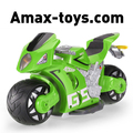 142711-2.4GHz 1/8 High Simulated 180° Drifting RC Motorcycle Car