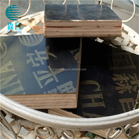 hot press film faced plywoods/Dood quality Flim faced Plywood from china/export Thailand