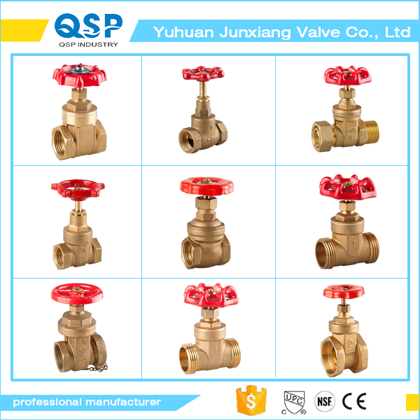 Yuhuan Factory direct sale brass non rising stem buried 1-inch brass gate valve