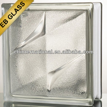 eb brand Glass Block/ 190*190*80mm clear Frost bistar cloudy block