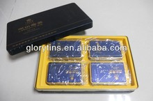 rectangular gift tin box,tea set best selling products