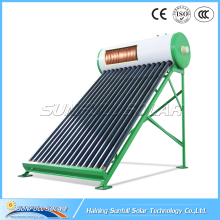 150L Best Selling COmpact Pressure Solar Water Heater With Copper coil